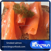 smoked atlantic salmon pieces
