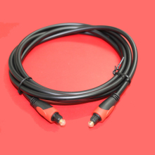 Digital Audio Optical Fiber Toslink Cable, Cable Length: 1m, OD: 5.0mm