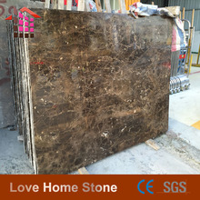 decorative marble pieces,polised brown marble,dark emperador marble slab