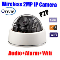 ONVIF CCTV Security Dome 2MP IR IP Camera Full HD 1080P 2.0 Megapixel Sony Network Day Night vision IP Camera