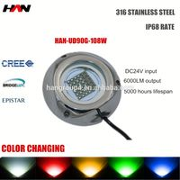 Pool light /underwater fishing light rgb 24V IP68 with one year guarantee