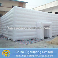 Pop Up White Color House Outdoor Giant Inflatable Dome Tent