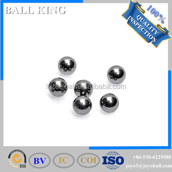 Hot sizes G100 aisi304 6mm shot stainless steel ball bearing loose