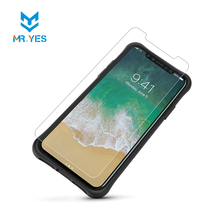 Full transparency high quality tempered glass screen protector for iphone 8 telephone