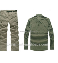 ZX Wholesale Fishing Shirts Tournament Fishing garment/Vented Fishing Shirts with custom logo