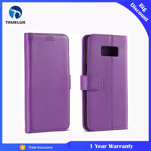Truelux for Samsung Galaxy Note 2 Flip Leather Wallet Case, for Samsung Note 2 Leather Case With Stand
