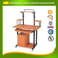 OEM Low Cost PP Table Fix Diy Computer Solid Wood Study Desk