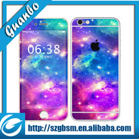 new arrival! full body mobile phone sticker for iphone 6, fashion, high quality, fast delivery, hundreds of designs