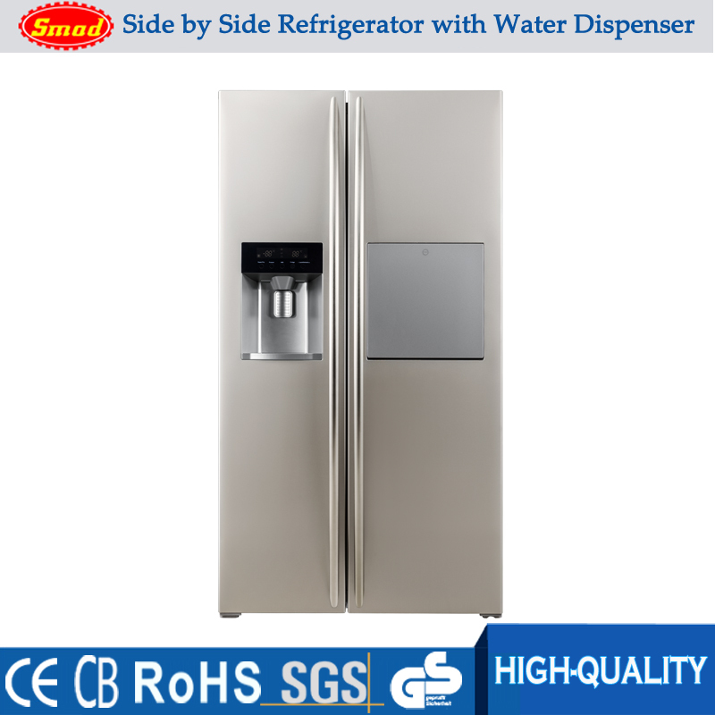 Home Refrigerator 550l Side By Side Double Door Fridge