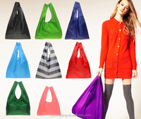 Factory Supply colors cheap Polyester Folding Shopping Bag