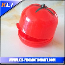 Eco-friendly plastic vegetable tomato shape food container