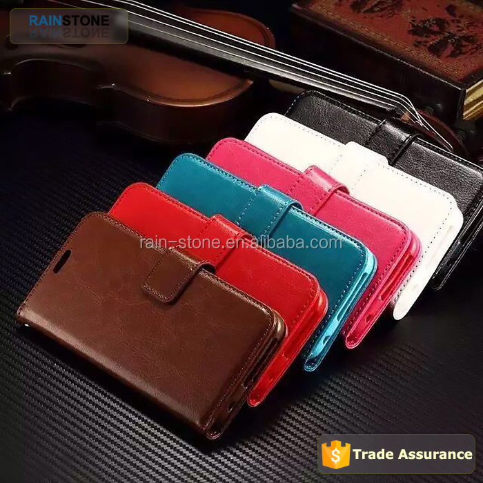 Vintage Retro Book Style Leather Case Cover for iPhone 6, Ultra Thin Wallet Case