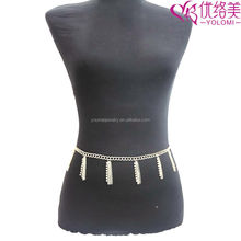 Waist Chain for Lady Belly Chain Jewelry Body Jewelry New Indian Women Fashionable Waist Belts Chain YMWC-609