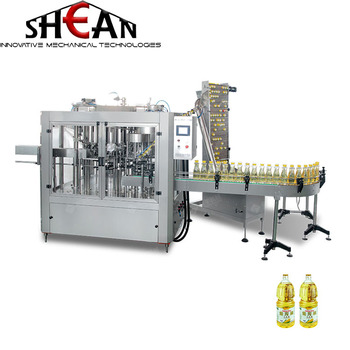 Linear High Precision Metering Pump Oil Filling Machine 4 Heads