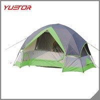 high quality fiberglass Pole 2 Person Camping Tent