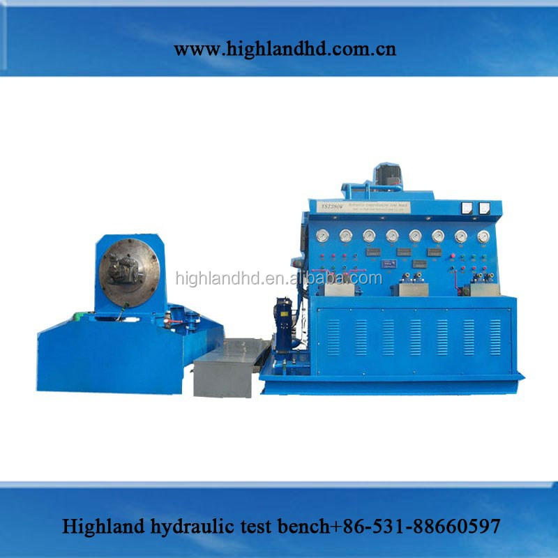 Shandong Jinan combined electric motor hydraulic drive flow meter test bench
