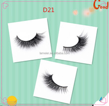 Instock For Promotion factory 4usd/pair 3D fluffy mink eyelash