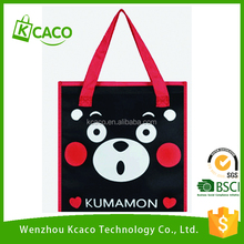 High Quality outdoor children promotional insulated picnic polyester food non woven cooler bag for lunch
