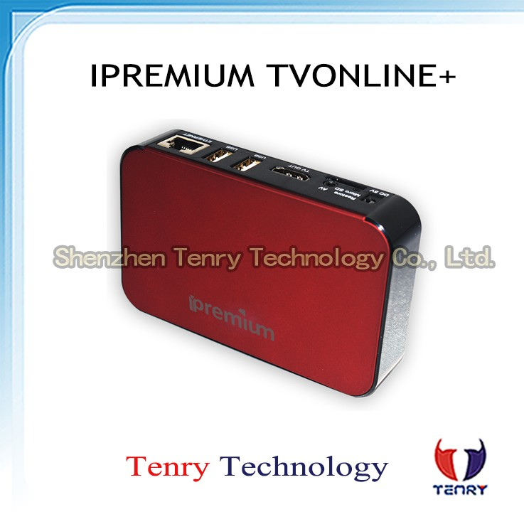 New Arrival Android IPTV Box Quad Core iPremium TVonline+