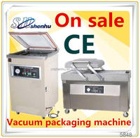 2015 semi automatic commercial chicken vacuum packing machine for supermaket SH-300T