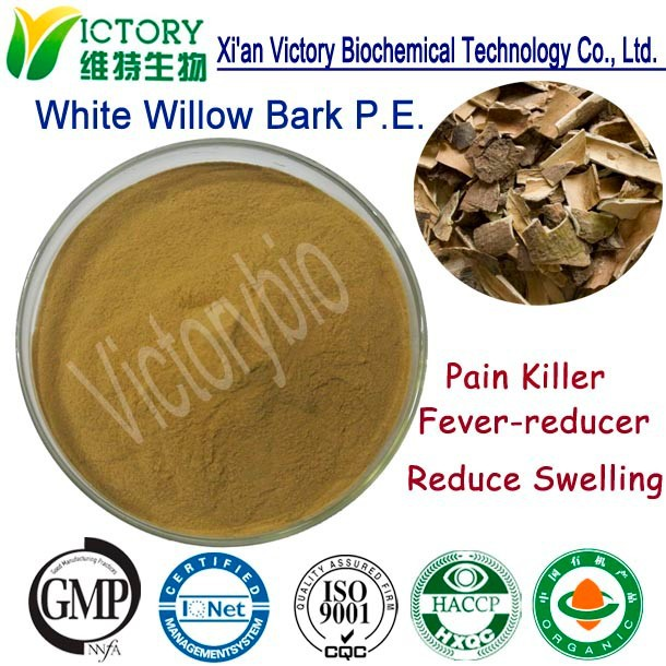 High Quality 100% Natural White Willow Bark Extract