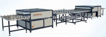 Horizontal hollow glass machinery
