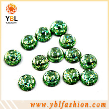 Bling hot fix iron on resin stone for dresses