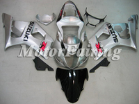 for suzuki gsxr1000 body kit K3 2003-2004 gsxr1000 fairing kit 03 04 gsxr1000 fairing gsxr1000 bodywork silver black
