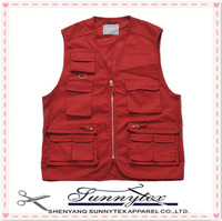 2014 New Arrival Colorful Mens Vest Workwear