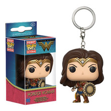 keychain Wonder Woman funko pop cartoon keychian