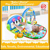 wholesale AZO EN71 ROHS 6P HX9105 New design indoor lovely kids custom foldable baby play mat
