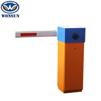 Intelligent Manual Parking Lot Gates For Vehicle Barrier Control System
