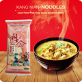 Dry Noodles 348g Chinese Local Flavor Pork Soup Tastes Noodles 3mm Xiang Nian Food 6 Sauce Bags Noodles