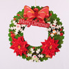 Christmas party supplies Christmas Tree Santa Claus Snowman For Christmas Wreath Decorations
