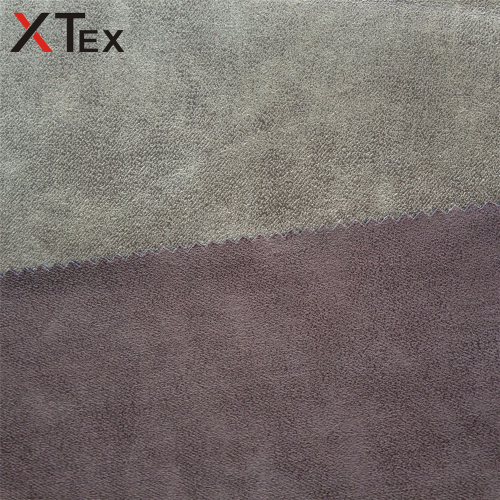100 polyester leather like fabric strip bronzed suede sofa upholstery fabrics car seat materials