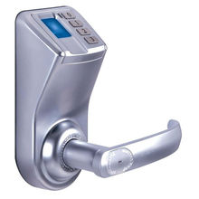 Biometric Fingerprint Door Lock Keyless DIY Install Manual PW/KEY ,door handle lock fingerprint LA9
