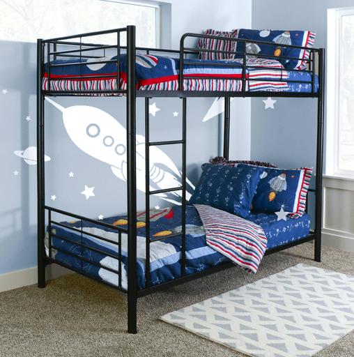 Double Decker Twin Over Twin Metal Bunk Beds - Buy Bunk Beds,Metal ...