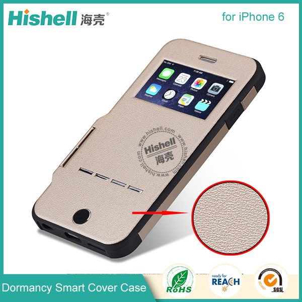 2015 New arrive dormancy smart cover for iphone 6 protector