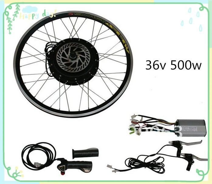 500w 36v bicycle electric conversion engine kits for bicycles