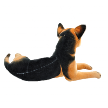 Promotion imported plush stuffed <strong>animals</strong> soft Realistic huge golden retriever toys plush german shepherd