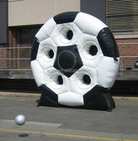 Europe popular inflatable shoot games