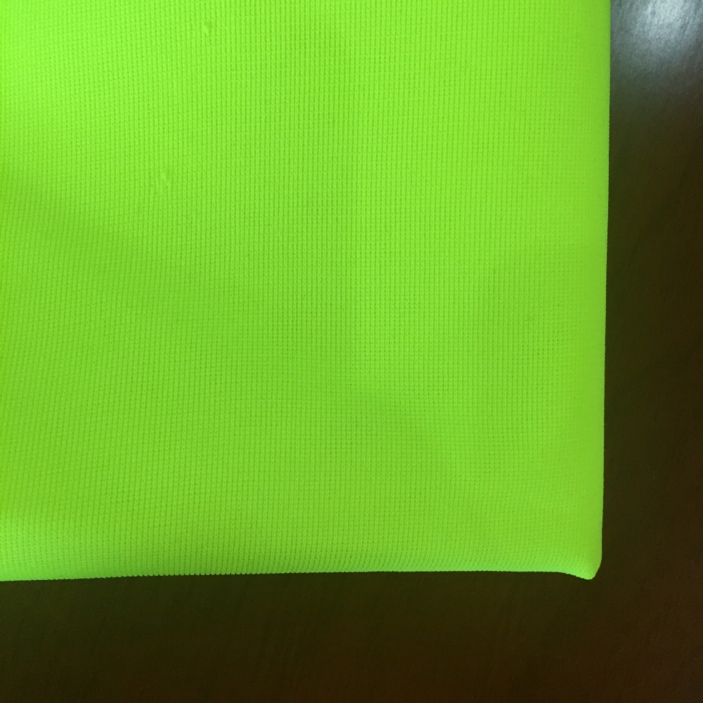 100%polyester fluorescent/refective fabric for safety vests