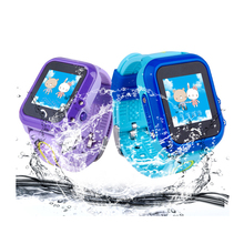 children kids smart watch, gps tracker locator moible watch phone, pedometer, sos, app remote monitor by phone