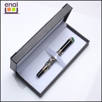 Hot selling wholesale dragon metal fountain pen with crystal and gift box