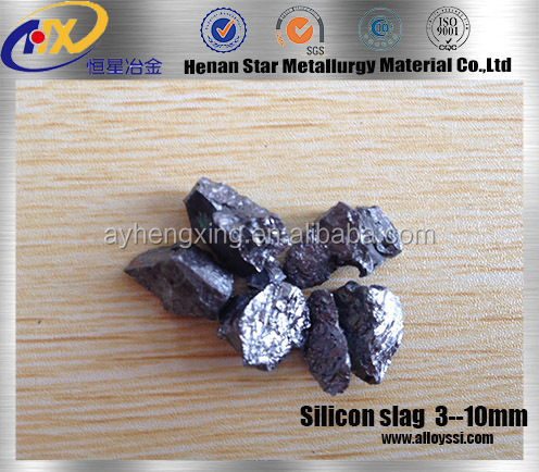steel making popular price hot sale Silicon slag/Silicon Briquette