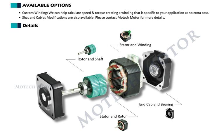3d Printer Nema 17 Stepper Motor View Nema 17 Stepper Motor Motech Motor Product Details From