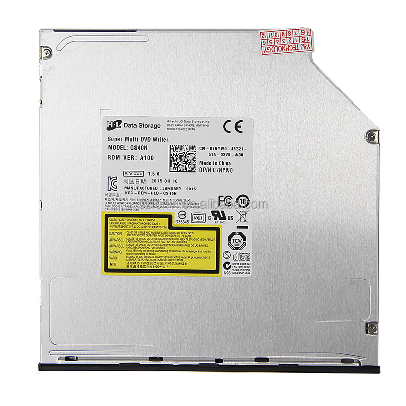 HL GS40N DVD Driver Laptop Ultra Slim 9.5mm SATA Super Multi DVD Rewriter Drive DVD Burner