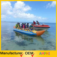 water play banana boats/inflatable sports aqua boat