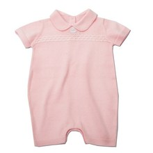 Girls fancy sweater blank infant solid color baby rompers