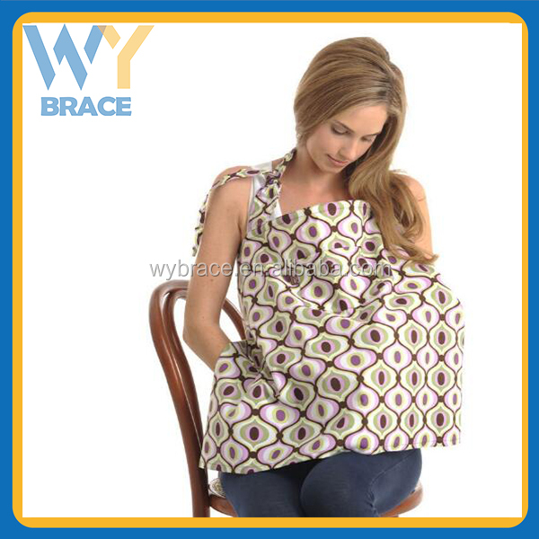 Hot selling Baby nursing cover Baby Breastfeeding Nursing Cover Breathable Cotton For New Mother